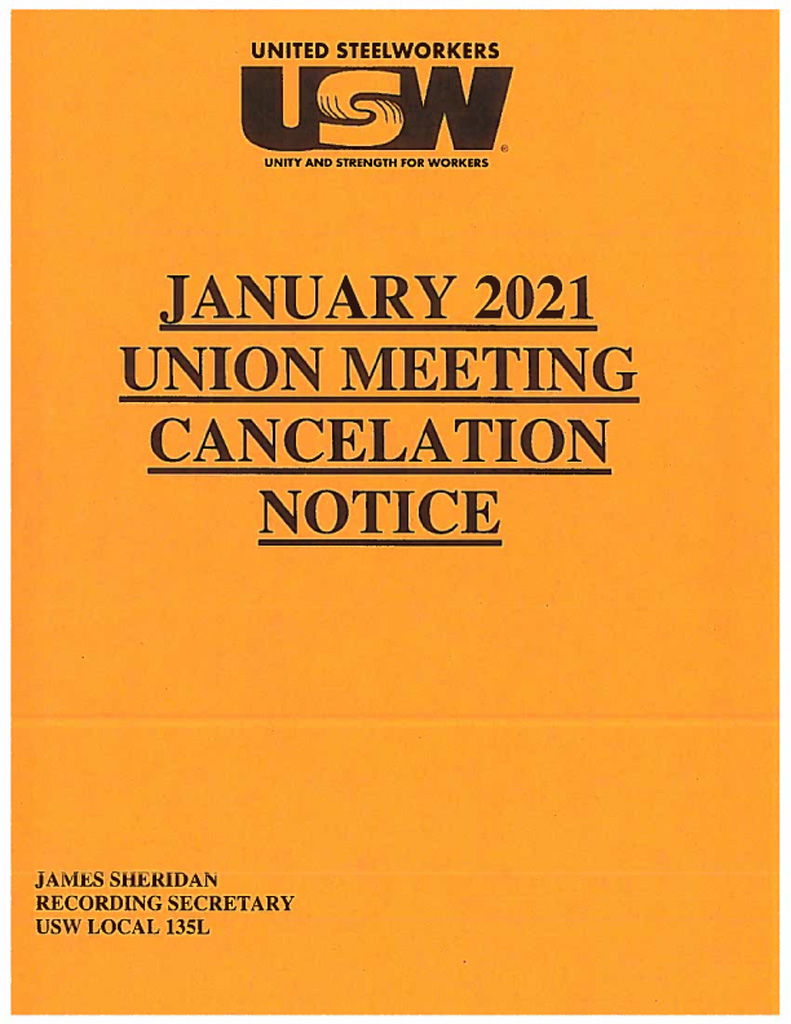 Union meeting copy